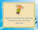 Dalai Lama Blue Happiness Printable Quotes