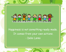 Dalai Lama Children Happiness Printable Quotes
