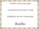 Buddha Health Inspirational Quotes