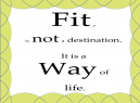 Stay Fit Inspirational Quotes