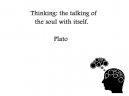 Thinking Plato Printable Quotes
