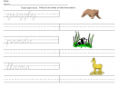 Printable Cursive Learning Worksheets