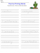 Printable Letter C Kids Worksheets