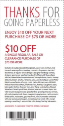 Printable Macy's Paperless Coupon