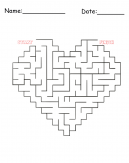 Heart Puzzle Printable Games