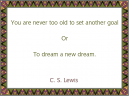 C.S. Lewis Printable Motivational Quotes