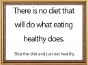 Printable Eating Healthy Quote