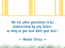 Printable Motivational Quotes by Mother Teresa