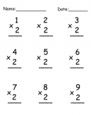 Practice Multiplication Worksheet