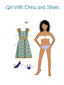 Printable Paper Doll Crafts