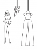 Printable Princess Paper Doll Crafts