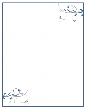 Dark Blue Paper Printable Crafts
