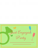 Engagement Party Printable Invitations