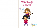 Printable Join Us Party Invitations