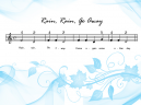 Printable Piano Music Rain Rain Go Away