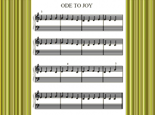 Printable Piano Music Sheets