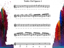 Treble Clef Spaces Piano Music
