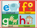 EFGH Printable Preschool Lesson Plan