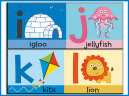 IJKL Printable Preschool Lessons