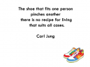 Shoe Fits Jung Printable Quotes