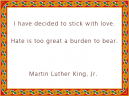 Printable MLK Love Quotes