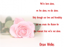 Printable Orson Welles Love Quotes