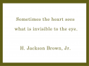 Printable Quotes About Love by H. Jackson Brown Jr.