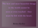 Printable Quotes About Love from Helen Keller