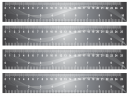 Printable Grey Paper Craft Rulers