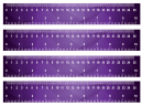 Purple Wavy Rulers Printable Crafts