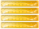 Yellow Wave Ruler Printable Crafts