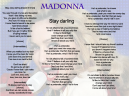 Madonna Printable Sheet Music