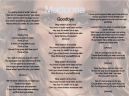 Printable Goodbye Madonna Music Sheet