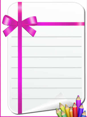 Printable Purple Stationaries