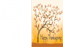 Printable Fall Happy Thanksgiving Cards