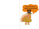 Printable Happy Thanksgiving Day Cards