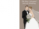 Printable Bouquet Wedding Invitations