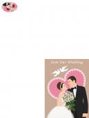 Printable Join Us Wedding Invitation