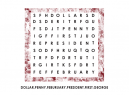 Printable Word Search Presidents Puzzles