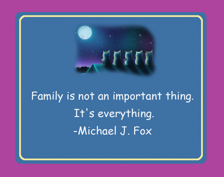 Family is Everything Printable Quote