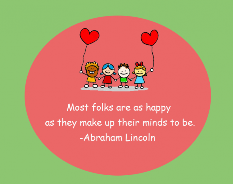 Abraham Lincoln Happiness Printable Quotes