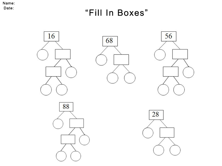 Printable Puzzle Math Worksheets
