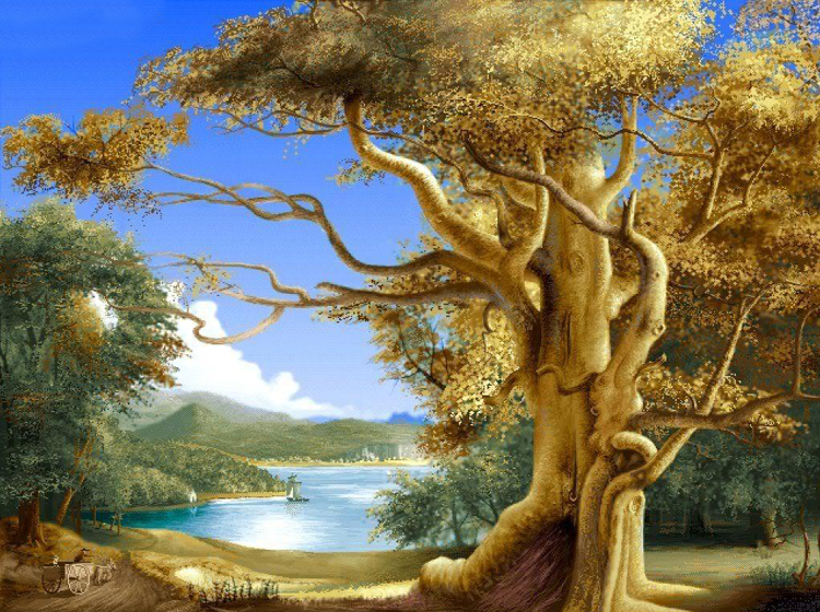 Whimsical Tree Printable Nature Pictures