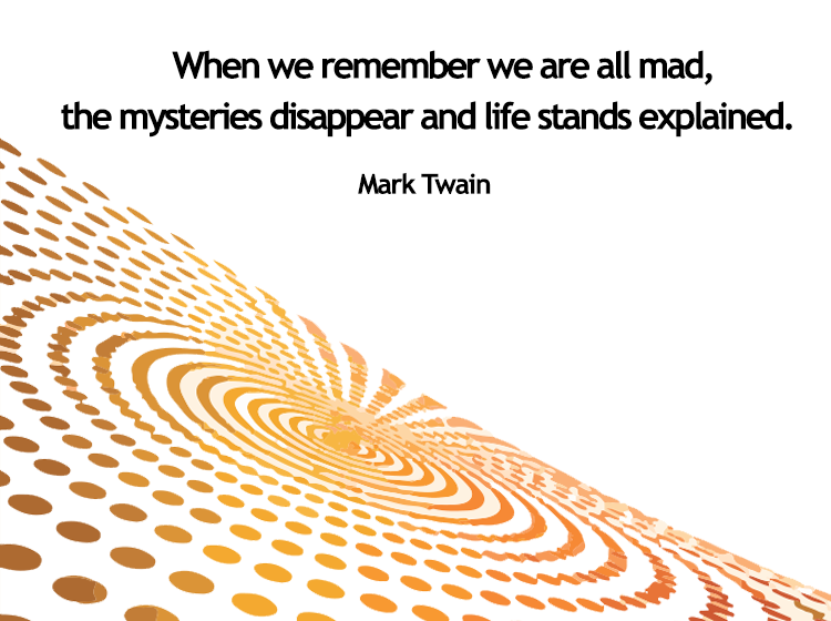 Mark Twain Mad Printable Quotes